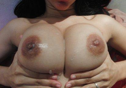 Bild: meine dicken titten zum bespritzen